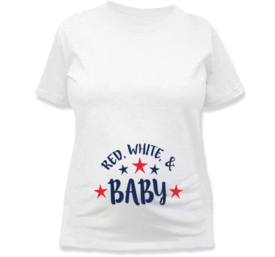 Red, White & Baby T-Shirt - TEP-1184