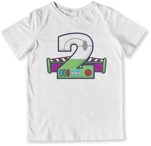 TODDLER TEE - 2 Year Old Buzz Lightyear - TEP-1483