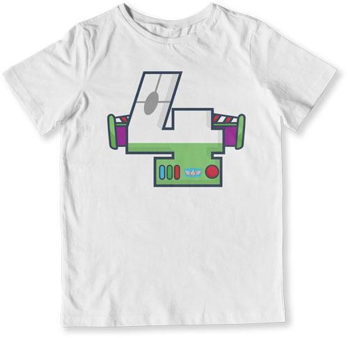TODDLER TEE - 4 Year Old Buzz Lightyear - TEP-1485