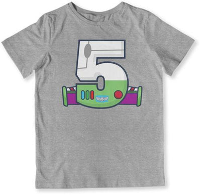 TODDLER TEE - 5 Year Old Buzz Lightyear - TEP-1486