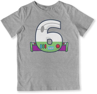 TODDLER TEE - 6 Year Old Buzz Lightyear - TEP-1487