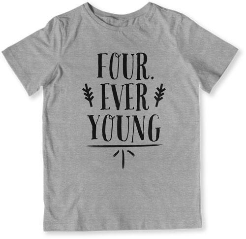 TODDLER TEE - Four Ever Young - TEP-1490