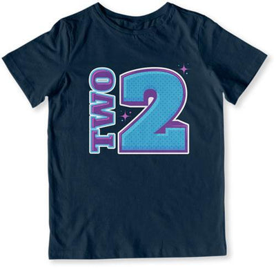 Two Years Old - Space T-Shirt - TEP-1491
