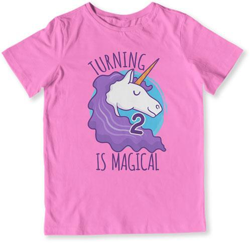 Turning 2 Is Magical T-Shirt - TEP-1499