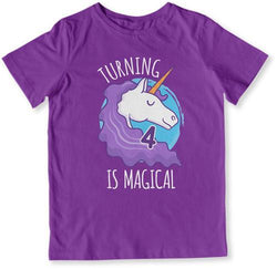 Turning 4 Is Magical T-Shirt - TEP-1501