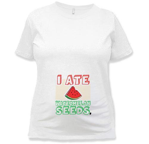 MATERNITY - I Ate Watermelon Seeds - TEP-151