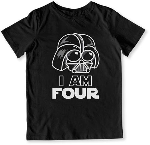 TODDLER TEE - I Am Four - TEP-1513