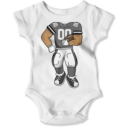 BABY BODYSUIT - Football Baby Outfit - TEP-1526
