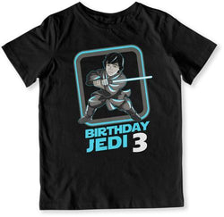 Birthday Jedi 3 T-Shirt - TEP-1600