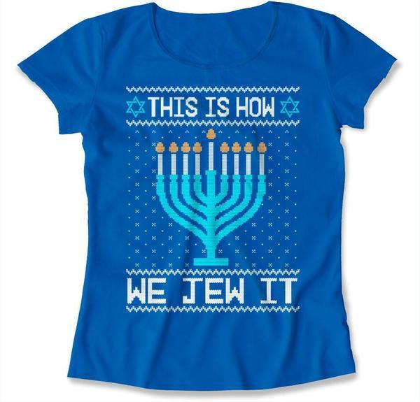 This Is How We Jew It Ugly Hanukkah Sweater - TEP-1682