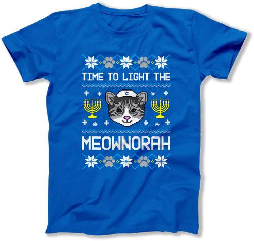 Time To Light The Meownorah - TEP-1716