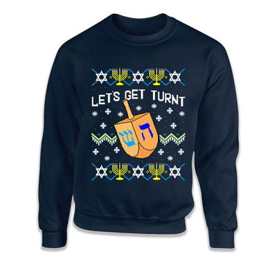 Let's Get Lit / Let's Get Turnt Matching Sweatshirts