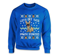 Let's Get This Pawty Started French Bulldogs - TEP-1725