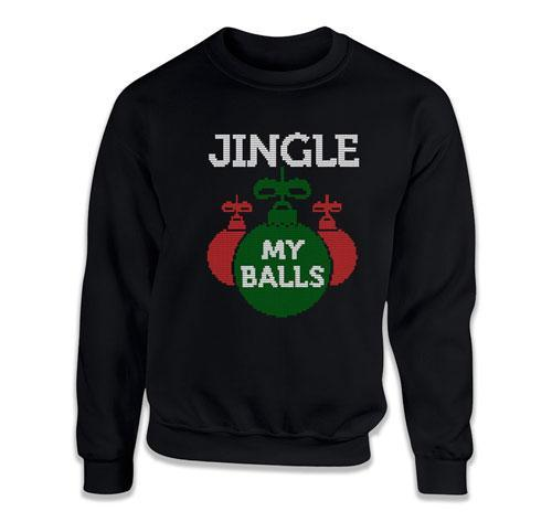 CREWNECK SWEATER - Jingle My Balls - TEP-1791