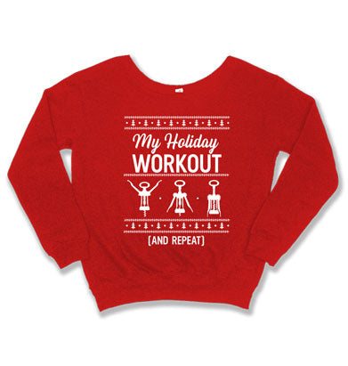 My Holiday Workout Ugly Sweater - TEP-1802