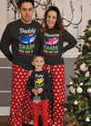 Matching Family Pajamas for Daddy, Mommy, and Baby Shark