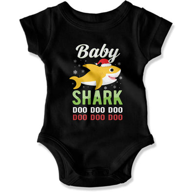 Matching Family Shirts for Daddy, Mommy, and Baby Shark