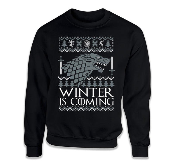 CREWNECK SWEATER - Winter is Coming - TEP-1899