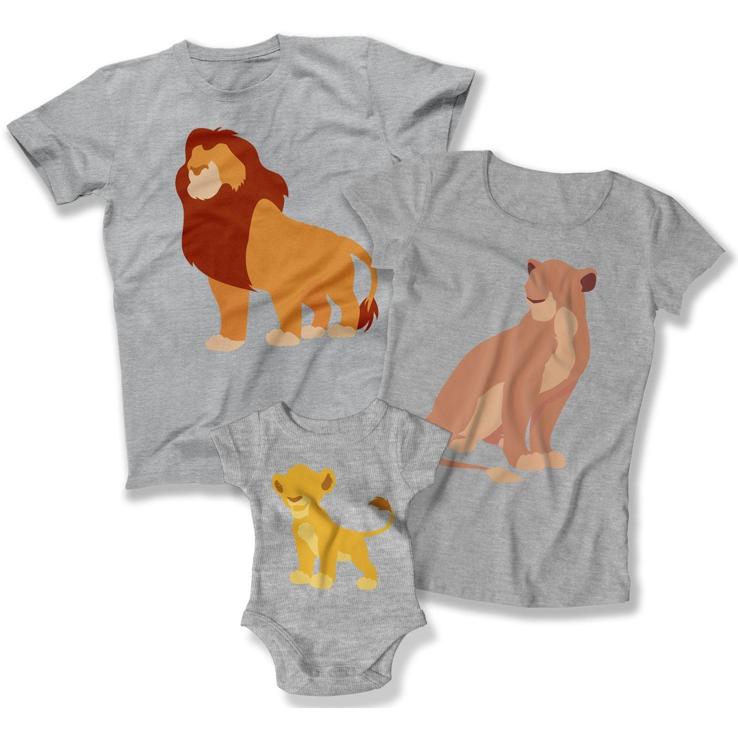 86b07d4a Mom Dad And Me Shirts - Family of 3 Set - Matching Family Outfits – Teepinch