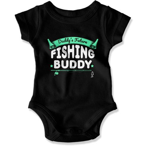 Some Fishers Have To Wait To Meet Their Buddy / Daddy's Future Fishing Buddy - TEP-256-255