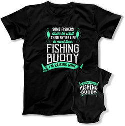Some Fishers Have To Wait To Meet Their Buddy / Daddy's Future Fishing Buddy