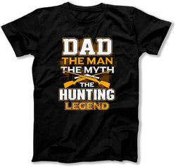 Dad The Man The Myth The Hunting Legend T-Shirt - TEP-349