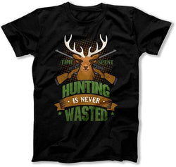 Time Spent Hunting Is Never Wasted T-Shirt - TEP-373