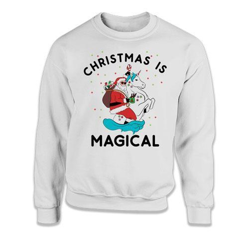 CREWNECK SWEATER - Christmas Is Magical - TEP-394