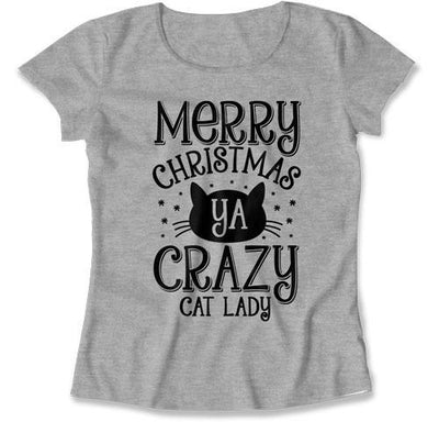 Merry Christmas Ya Crazy Cat Lady - TEP-543