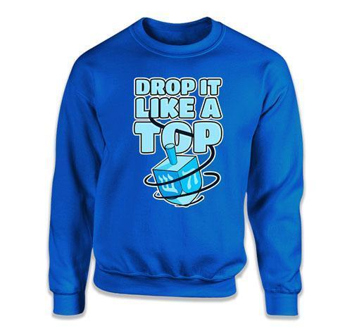 CREWNECK SWEATER - Drop It Like A Top - TEP-599