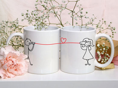 Cup And String Mugs - VAL-05-06
