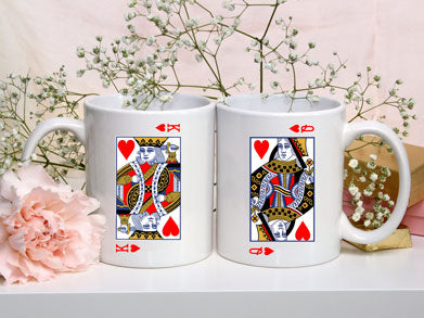 King And Queen Mugs - VAL-45-46