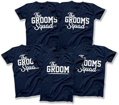 Groom and Groom's Squad Shirts