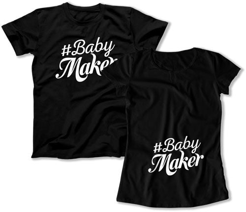 #Babymaker Matching Couple Shirts