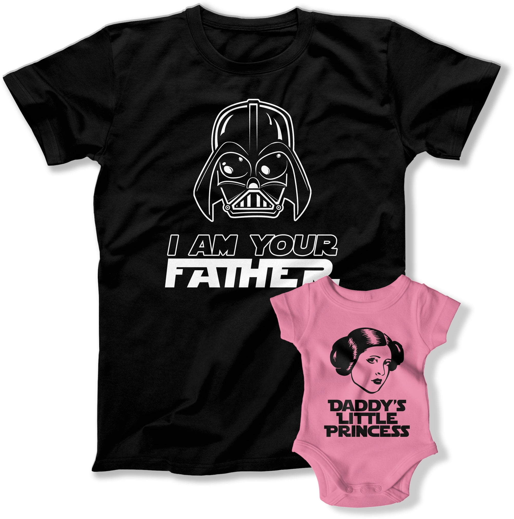 I Am Your Father / Daddy's Little Princess Matching Father Daughter Shirts