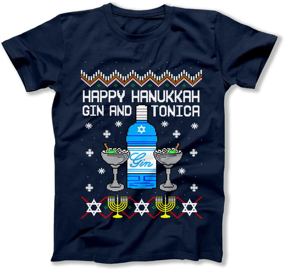 Happy Hanukkah Gin And Tonica - FAT-591
