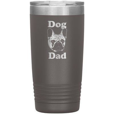 Dog Dad 20 Oz Tumbler