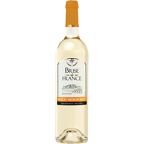 Brise de France Muscat Medium Sweet Blanc 75cl