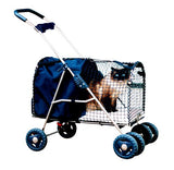 Kittywalk 5th Ave Luxury Pet Stroller (KWPS 5AVE) - Pet Stroller World - 2