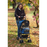 Pet Gear Happy Trails Pet Stroller - Cobalt Blue (PG8100ST) - Pet Stroller World - 2