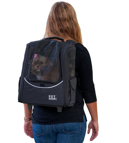 Pet Gear PG123BK Carriers / Backpacks Black Finish