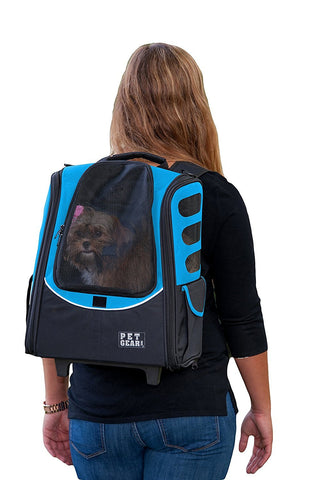 Pet Gear PG123OB Carriers / Backpacks Ocean Blue Finish