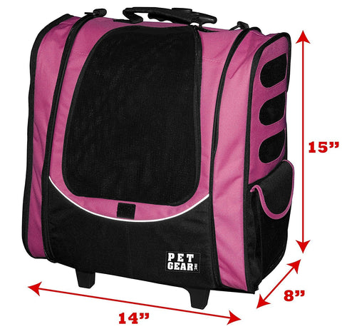 Pet Gear PG1230PK Carriers / Backpacks Pink Finish