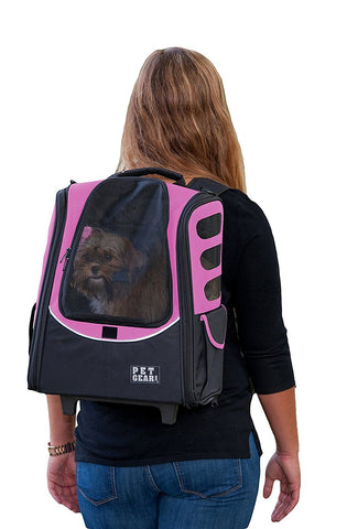 Pet Gear PG123PK Carriers / Backpacks Pink Finish