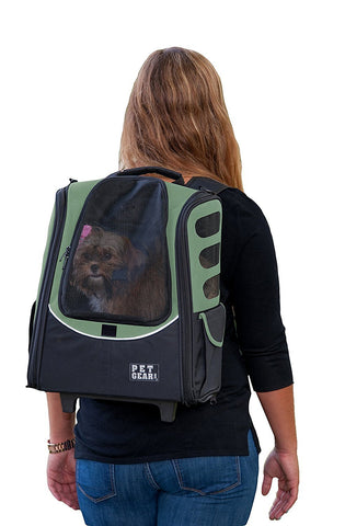 Pet Gear PG123SG Carriers / Backpacks Sage Finish