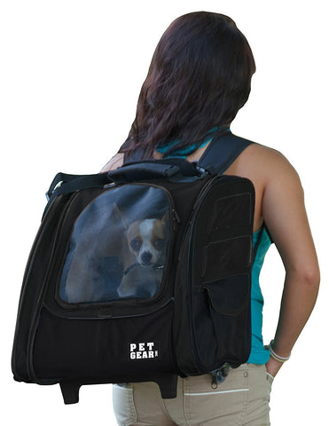 Pet Gear PG124BK Carriers / Backpacks Black Finish