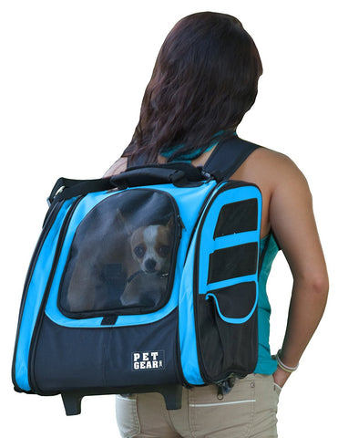 Pet Gear PG124OB Carriers / Backpacks Ocean Blue Finish