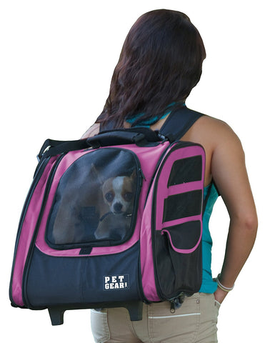 Pet Gear PG124PK Carriers / Backpacks Pink Finish