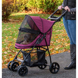 Pet Gear No-Zip PG8030NZBB Strollers Boysenberry Finish