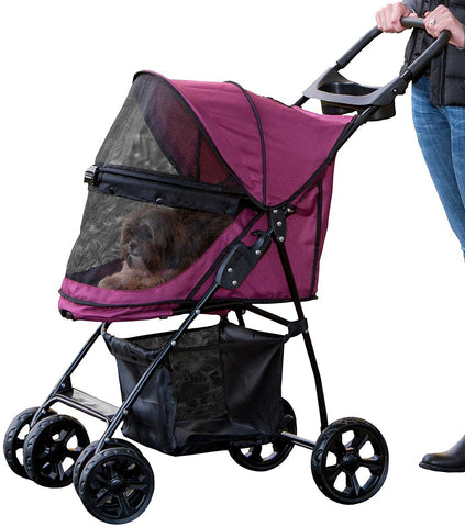 Pet Gear PG83NZBB Strollers Boysenberry Finish